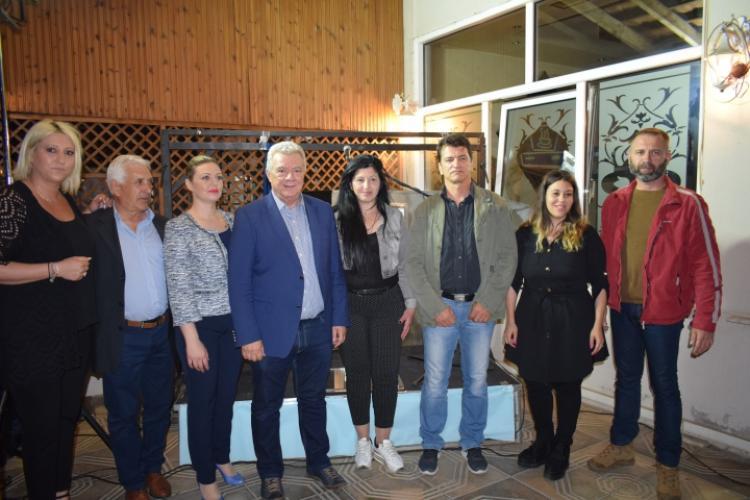 Επισκέψεις Γκυρίνη στο Κέντρο Υγείας, την Αστυνομία και τον Εμπορικό Σύλλογο και περιοδεία σε Βρυσάκι, Νησί και Καμποχώρι