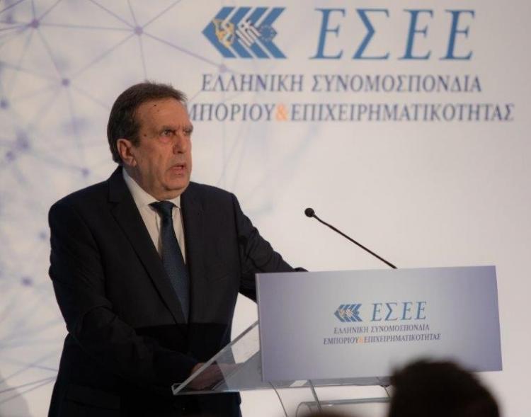 Δήλωση Προέδρου ΕΣΕΕ κ. Γιώργου Καρανίκα για την τροπολογία περί μερικής άρσης δεσμευμένου λογαριασμού