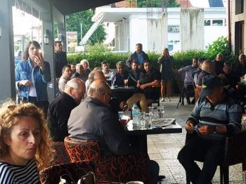 Επισκέψεις του υποψηφίου δημάρχου Αλεξάνδρειας Μιχάλη Χαλκίδη σε Πλάτανο, Κλειδί και Τρίκαλα