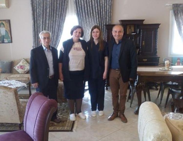 Επίσκεψη του Β.Κωνσταντινόπουλου στο Γηροκομείο Βέροιας