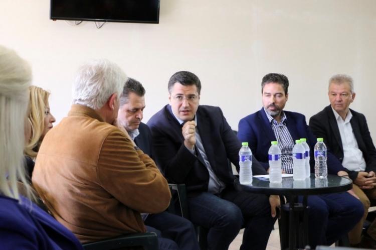 Επίσκεψη του Περιφερειάρχη Κ.Μακεδονίας, Απ.Τζιτζικώστα σε Βέροια, Αλεξάνδρεια και περιοχές της Ημαθίας