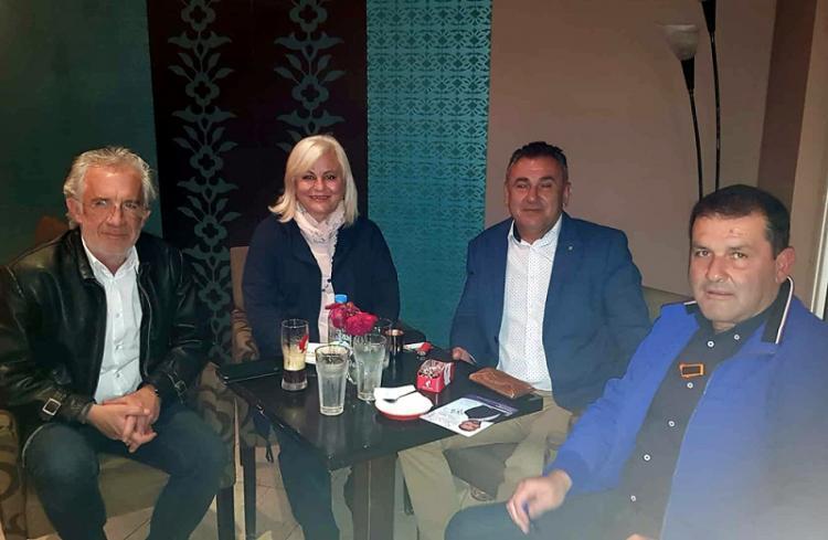 Με τον Αγροτικό Σύλλογο Γεωργών Βέροιας συναντήθηκε η Γεωργία Μπατσαρά