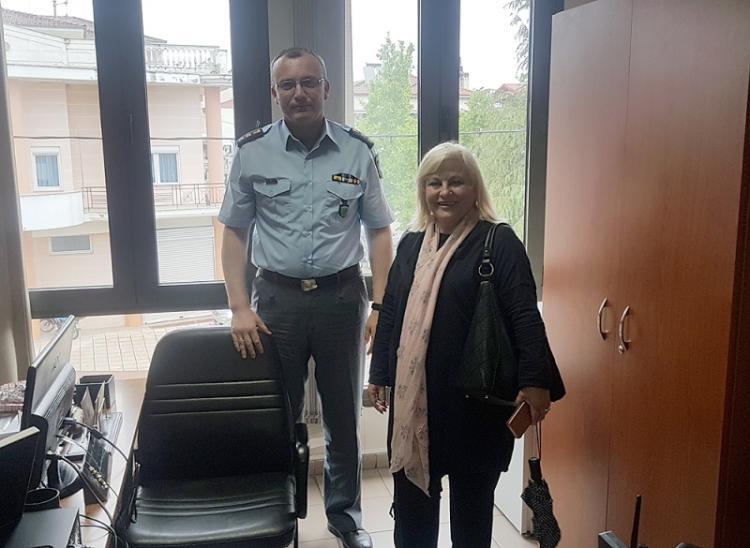 Γεωργία Μπατσαρά : «Θα αναζητήσουμε τρόπους να ενισχύσουμε την Αστυνομία»