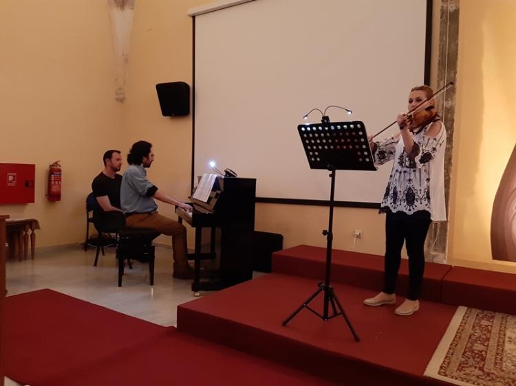 Ρεσιτάλ βιολιού & πιάνου πραγματοποιήθηκε στο Παύλειο Πολιτιστικό Κέντρο Βέροιας
