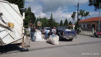 Δήμος Βέροιας : Με αύξηση κατά 50% ολοκληρώθηκε η πρώτη συλλογή κενών συσκευασιών φυτοπροστατευτικών προϊόντων για το έτος 2019