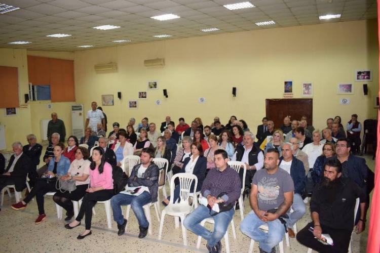 Σε Διαβατό και Μακροχώρι συνέχισε του Δημόσιους Διαλόγους ο Κώστας Βοργιαζίδης