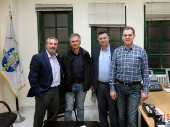 Συνάντηση του Δ.Σ. της Λέσχης Καταδρομέων Ημαθίας με υποψήφιους δημάρχους Νάουσας