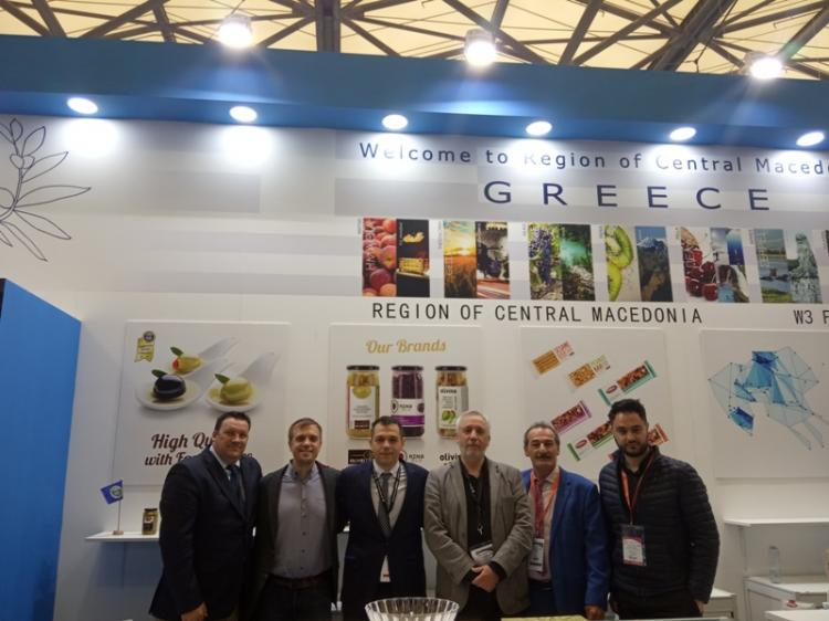 H Περιφέρεια Κεντρικής Μακεδονίας στην «TuttoFood 2019» στο Μιλάνο και στη «Sial China 2019» στη Σανγκάη