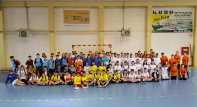 Σχολικοί αγώνες ΑθλοΠΑΙΔΕΙΆΣ  Χειροσφαίρισης Δημοτικών Σχολείων περιοχής Βέροιας