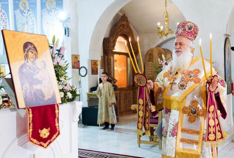 Πανηγύρισε ο Ιερός Ναός των Αγίων Ισαποστόλων Κωνσταντίνου και Ελένης Διαβατού