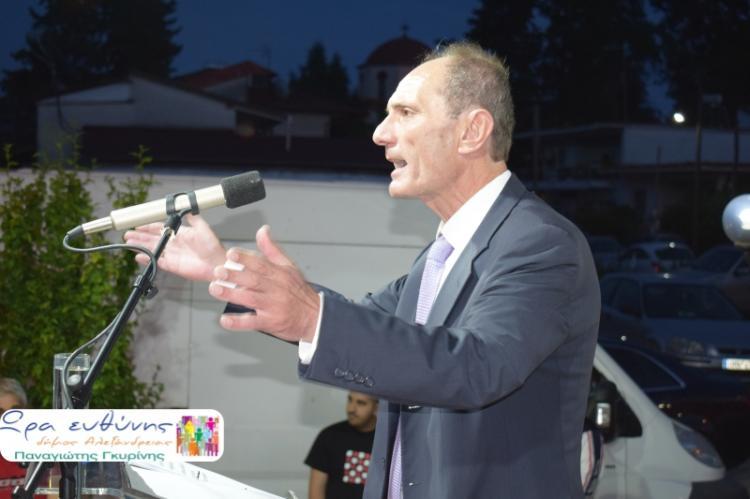 Από το Πλατύ ξεκίνησε τις ομιλίες του ο υποψήφιος δήμαρχος Αλεξάνδρειας Παναγιώτης Γκυρίνης