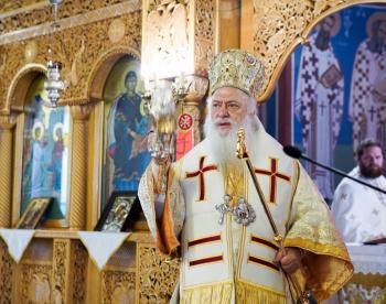 Η εορτή της Μεσοπεντηκοστής στον Ιερό Ναό Ευαγγελισμού της Θεοτόκου Ναούσης