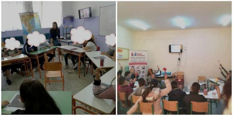 Μαθητές των 2ου και 6ου Δημοτικών Σχολείων Αλεξάνδρειας σε βιωματικό εργαστήριο με θέμα «Σχολικός εκφοβισμός»