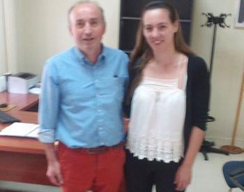 Επίσκεψη του Β. Κωνσταντινόπουλου στο Νοσοκομείο Νάουσας