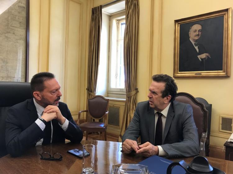 Συνάντηση της ΕΣΕΕ με το Διοικητή της Τράπεζας της Ελλάδας