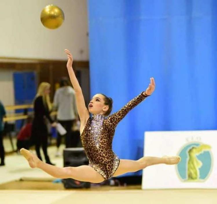 Ρυθμική γυμναστική : Θρίαμβος των κορασίδων αθλητριών του ΑΟΡΓ Βέροιας