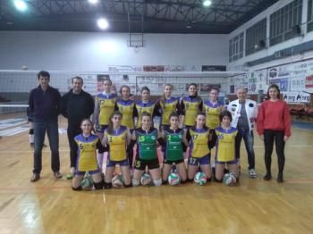 Τοπικό πρωτάθλημα βόλεϊ γυναικών ΕΣΠΕΜ : ΠΟΣΕΙΔΩΝΑΣ ΒΕΡΟΙΑΣ - ΑΙΟΛΟΣ ΚΑΤΕΡΙΝΗΣ 3-0
