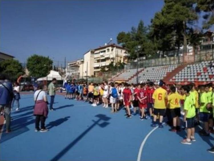 Σχολικοί αγώνες ΑθλοΠΑΙΔΕΙΆΣ Καλαθοσφαίρισης Δημοτικών Σχολείων περιοχής Βέροιας