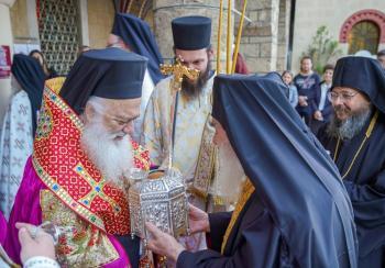 Tην Τιμία Κάρα του Αγίου Παντελεήμονος του Ιαματικού υποδέχτηκε η Βέροια