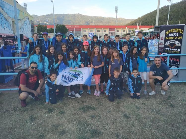 Η Κολυμβητική Ακαδημία «ΝΑΟΥΣΑ» στους 23ους ΙΩΝΙΚΟΥΣ αγώνες!