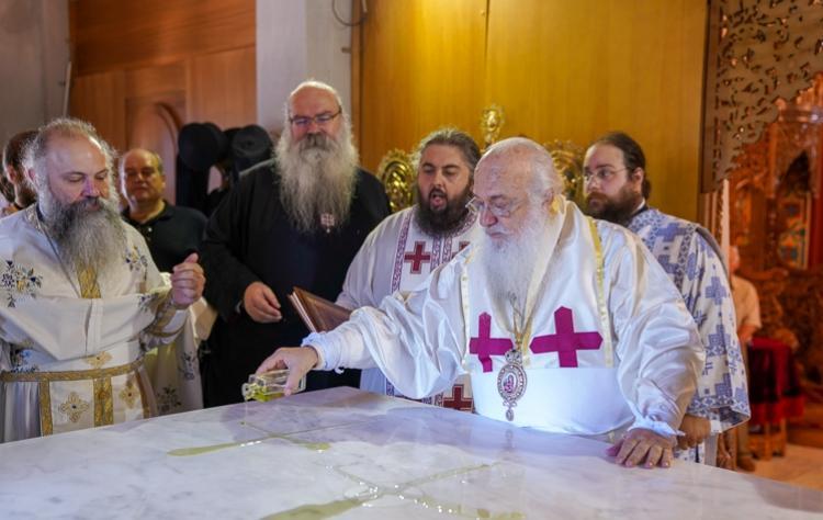 Εγκαίνια του Ιερού Ναού των Οσίων Αρσενίου και Παϊσίου στο Πλατύ