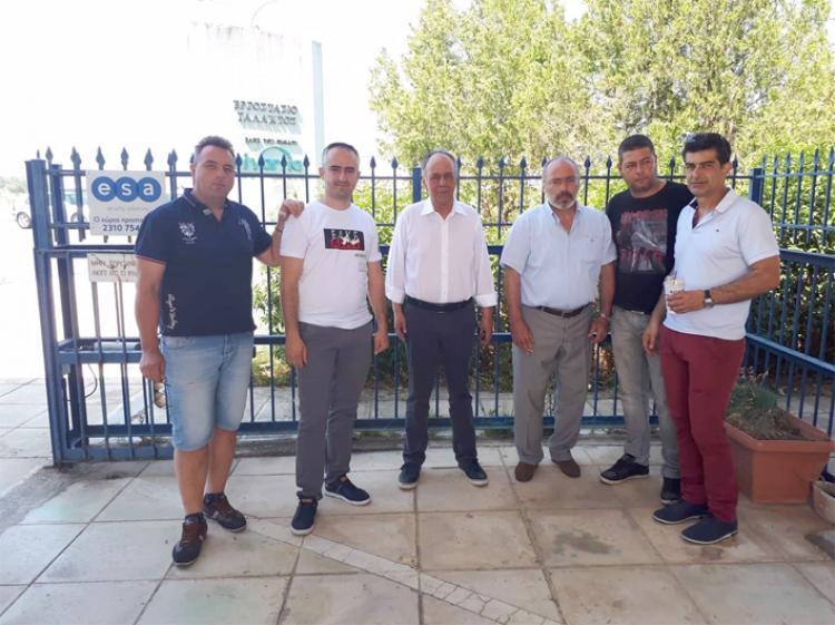 Συνάντηση του βουλευτή Ημαθίας Χρήστου Αντωνίου με το σωματείο εργαζομένων της NESTLE