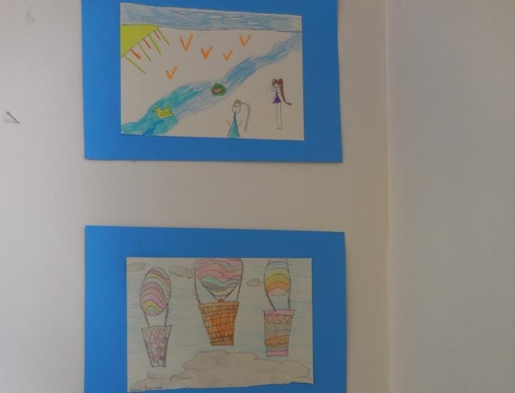 Έκθεση ζωγραφικής & εκδήλωση με θέμα «κάτω από τον ίδιο ουρανό» από το 3ο Δ.Σ. Βέροιας στο Χώρο Τεχνών