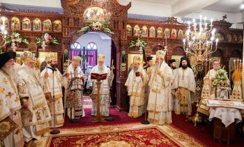 Πανηγύρισε ο Ιερός Ναός του Αγίου Λουκά του Ιατρού στην Ι.Μ. Παναγίας Δοβρά Βεροίας