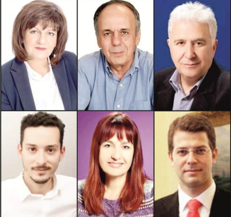 Οι υποψήφιοι βουλευτές του ΣΥΡΙΖΑ στην Ημαθία