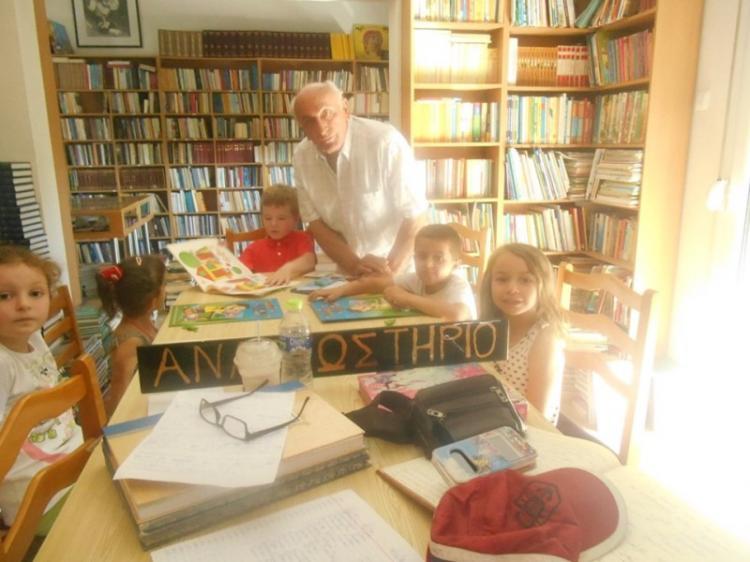 «Συγκίνηση» στη βιβλιοθήκη Γιαννακοχωρίου - Γράφει ο Ηλίας Τσέχος