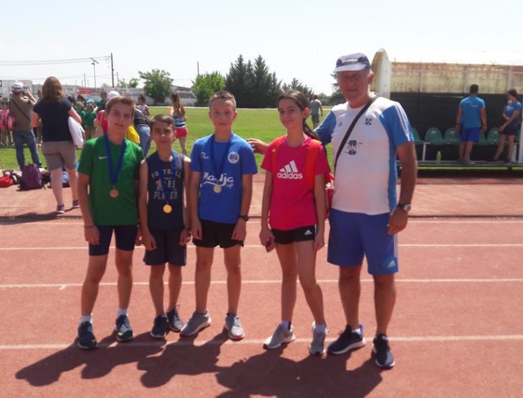 Πέντε μετάλλια οι μικροί βεροιώτες στους αγώνες φιλίας στίβου στην Αλεξάνδρεια