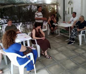 Περιοδεία κλιμακίου του ΚΚΕ σε Στενήμαχο και Μονόσπιτα
