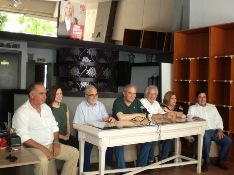 Παρουσιάστηκε το ψηφοδέλτιο του ΚΙΝ.ΑΛ στην Ημαθία ενόψει των βουλευτικών εκλογών της 7ης Ιουλίου