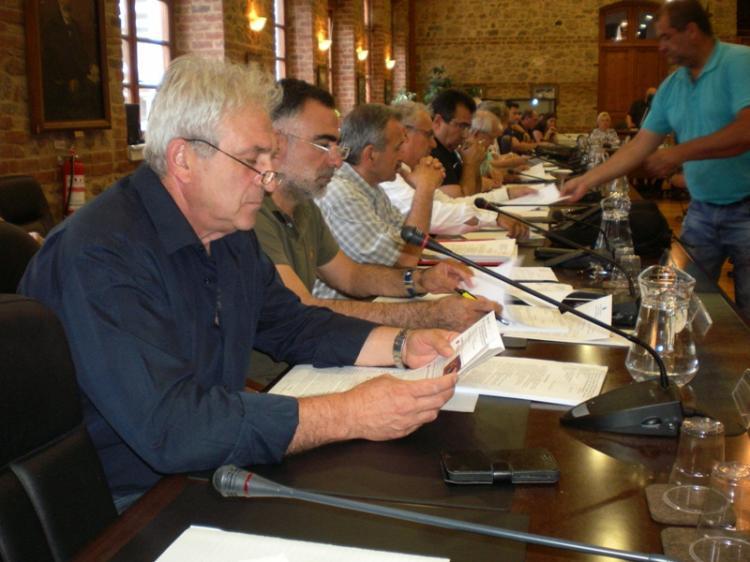 Κ. Βοργιαζίδης στο Δ.Σ. Βέροιας : «Δημιουργία συνεργασιών, για να υπάρξει το καλύτερο δυνατό αποτέλεσμα για το Δήμο»