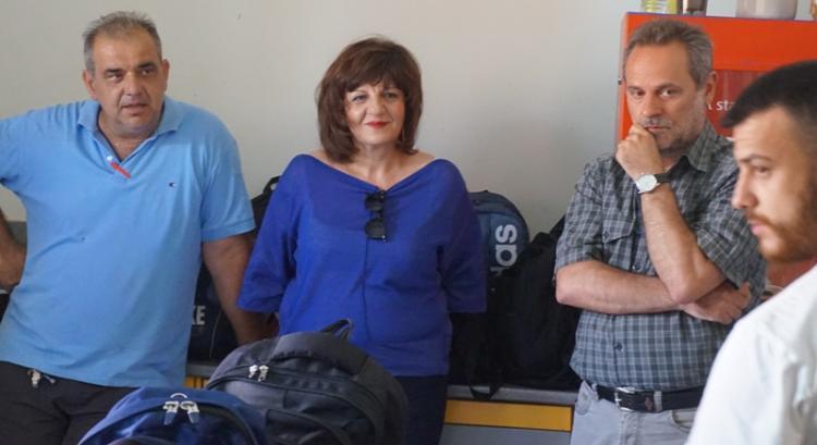 Επίσκεψη Φρόσως Καρασαρλίδου στην εταιρεία ΒΑΡΒΑΡΕΣΣΟΣ και στον ΤΟΕΒ Νάουσας
