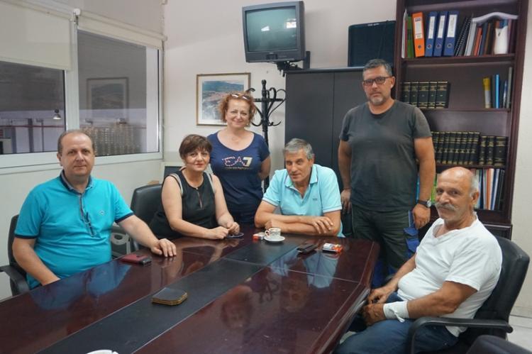 Συνάντηση Φρόσως Καρασαρλίδου με Συνεταιρισμούς του Ν. Ημαθίας