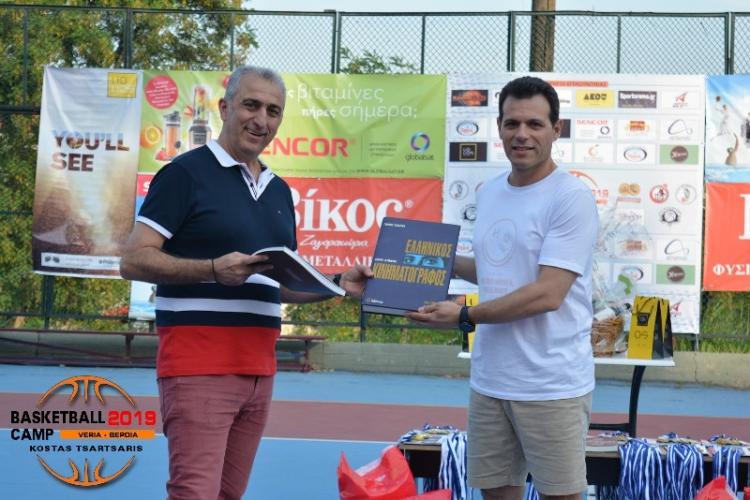 Με Δημήτρη Ιτούδη ολοκληρώθηκε η πρώτη περίοδος του 5ου VERIA BASKETBALL CAMP