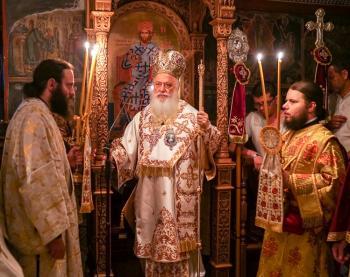 Με λαμπρότητα πανηγύρισε η Ιερά Μονή των Αγίων Πάντων Βεργίνης