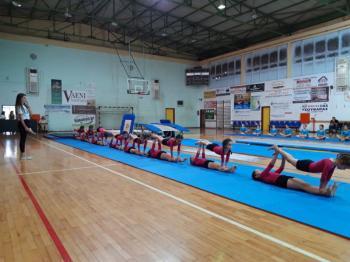 Πραγματοποιήθηκε από τον Αθλητικό Σύλλογο Νάουσας «ΗΡΑΚΛΗ» η καθιερωμένη ετήσια γιορτή Ενόργανης Γυμναστικής