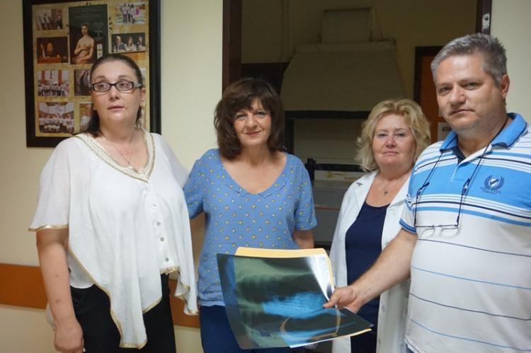Στο Κέντρο Υγείας και στο EΦΚΑ (πρ. ΙΚΑ) Βέροιας η Φρόσω Καρασαρλίδου