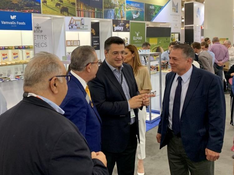 Ο Περιφερειάρχης Κ. Μακεδονίας Απ.Τζιτζικώστας στη διεθνή έκθεση τροφίμων – ποτών «Summer Fancy Food Show 2019» στη Νέα Υόρκη