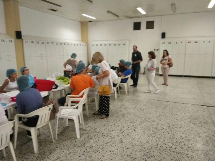Επίσκεψη υποψήφιων βουλευτών του ΚΚΕ στο εργοστάσιο της ΑΛΜΜΕ και την Πυροσβεστική Υπηρεσία Βέροιας