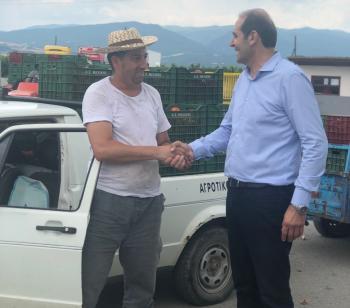 Απ. Βεσυρόπουλος : «Να βάλουμε τον πρωτογενή τομέα σε μια νέα εποχή»