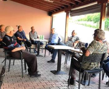 Ενθουσιώδης η υποδοχή για το Λάζαρο Τσαβδαρίδη στα ορεινά και τα πεδινά του Δήμου Νάουσας