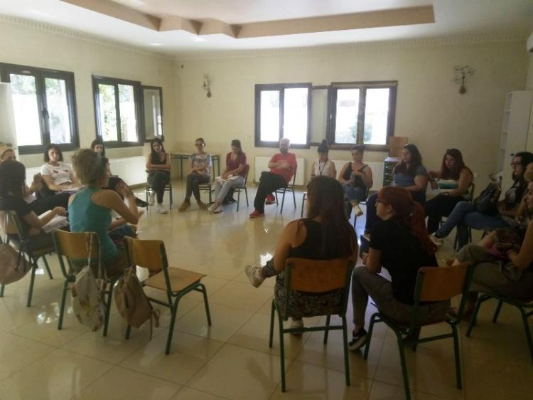 Συνάντηση φορέων στο camp προσφύγων Αγ. Βαρβάρας Βέροιας