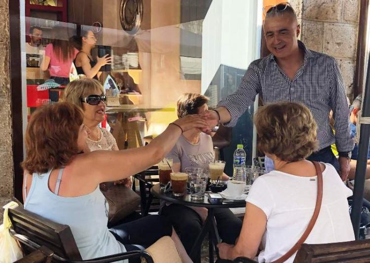 Η Νάουσα αγκαλιάζει το Λάζαρο Τσαβδαρίδη