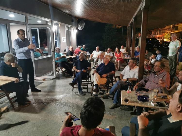 Απ. Βεσυρόπουλος : «Ισχυρή και Αυτοδύναμη Νέα Δημοκρατία για να ακυρωθούν οι σχεδιασμοί Τσίπρα και η απλή αναλογική»