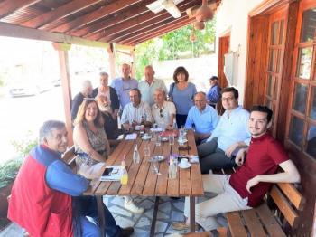 Περιοδεία κλιμακίου του «ΣΥΡΙΖΑ-ΠΡΟΟΔΕΥΤΙΚΗ ΣΥΜΜΑΧΙΑ» στα χωριά της Δημοτικής ενότητας Μακεδονίδας