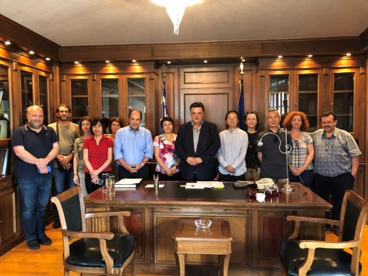 Κοινοπραξία συνεταιρισμών ομάδων παραγωγών Ημαθίας : Άνοιγμα της κινέζικης αγοράς στα ελληνικά πυρηνόκαρπα