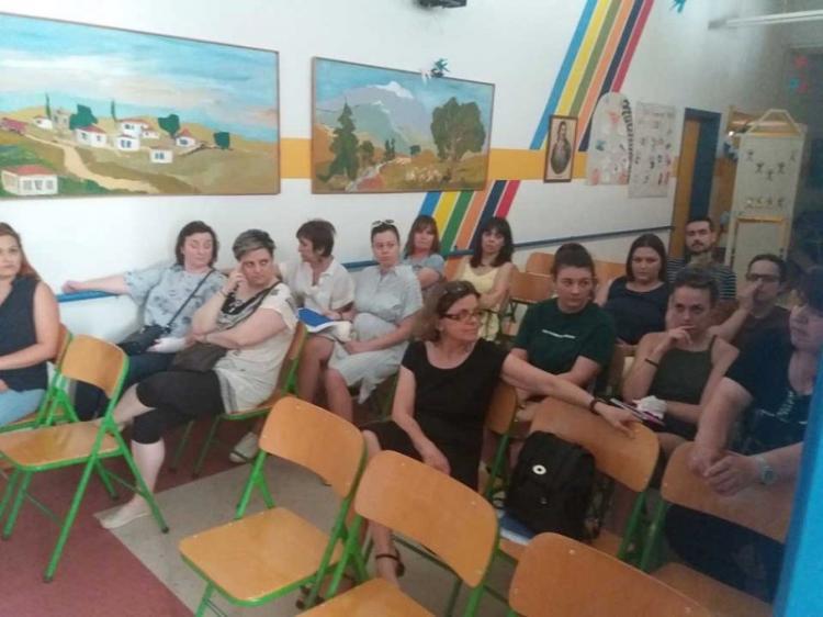Συνάντηση τελικής αξιολόγησης του προγράμματος Mentoring στο Δήμο Νάουσας